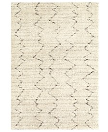 Prima Shag Fassi Ivory Area Rug Collection