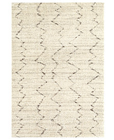 Karastan Prima Shag Fassi Ivory Area Rug Collection