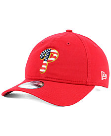 New Era Philadelphia Phillies Stars and Stripes 9TWENTY Strapback Cap