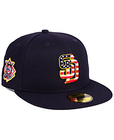 New Era San Diego Padres Stars and Stripes 59FIFTY Fitted Cap