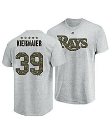Majestic Men's Kevin Kiermaier Tampa Bay Rays Camo Player T-Shirt