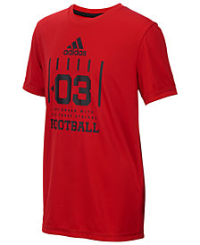 adidas Big Boys Graphic-Print T-Shirt