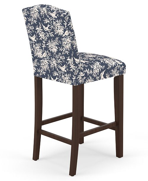 Awesome Bedford Collection Cora Bar Stool Quick Ship Created For Macys Gamerscity Chair Design For Home Gamerscityorg