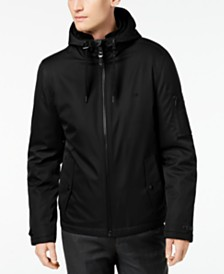 Calvin Klein Men's Ripstop Hooded Windbreaker