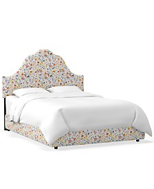 Martha Stewart Collection™ Bedford Collection Kingsley Queen Bed, Quick Ship, Created For Macy's