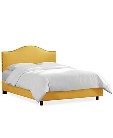 Martha Stewart Collection™ Bedford Collection Landon Queen Bed, Quick Ship, Created For Macy's