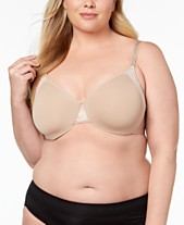 9cf122db51804 Olga Cloud 9 Full-Figure Lace-Trim Minimizer Bra GI8961A