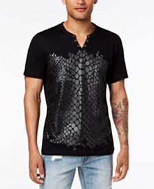 I.N.C. Men's Crocodile T-Shirt, Created for Macy's