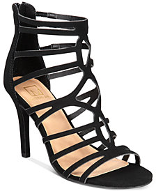 Material Girl Pixie Caged Sandals, Created for Macy's