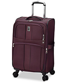 "London Fog Langley 21"" Carry-On Spinner Suitcase"
