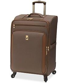 """London Fog Kensington 25"""" Softside Spinner Suitcase"""