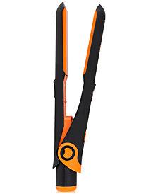 "CROC Plug Detachable Mini Flat Iron (Black & Orange), 3/4"", from PUREBEAUTY Salon & Spa"