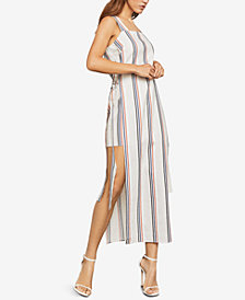 BCBGMAXAZRIA Multi-Stripe Maxi Dress