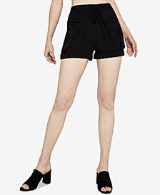 BCBGeneration Drawstring Utility Shorts