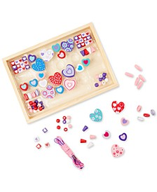 Kids Toy, Sweet Hearts Bead Set