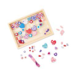 Melissa and Doug Kids Toy, Sweet Hearts Bead Set