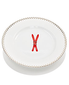 Martha Stewart Collection Ski Salad Plate, Created for Macy's