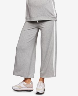 Image of A Pea In The Pod Maternity Cropped Drawstring Pants
