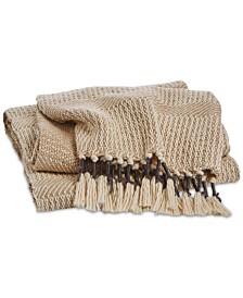 Lucky Brand Tassel Throw, Created for Macy's