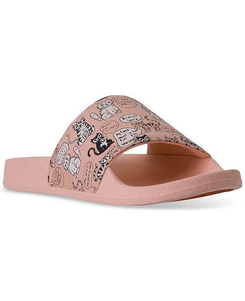 Skechers Women's Bobs Pop-Ups - Cat Chat Bobs for Dogs Slide Sandals from Finish Line gF2USn
