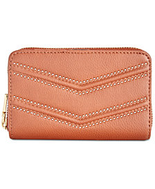 I.N.C. Marney Zip-Around Snap Wallet, Created for Macy's