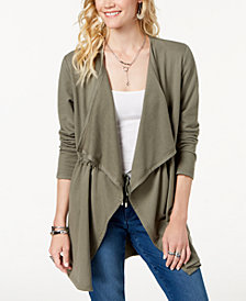 Style & Co Draped-Front Jacket, Created for Macy's