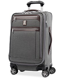 "Platinum Elite 21"" Softside Carry-On Spinner Suitcase"