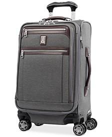 "Platinum Elite 21"" Softside Carry-On Spinner Suitcase"