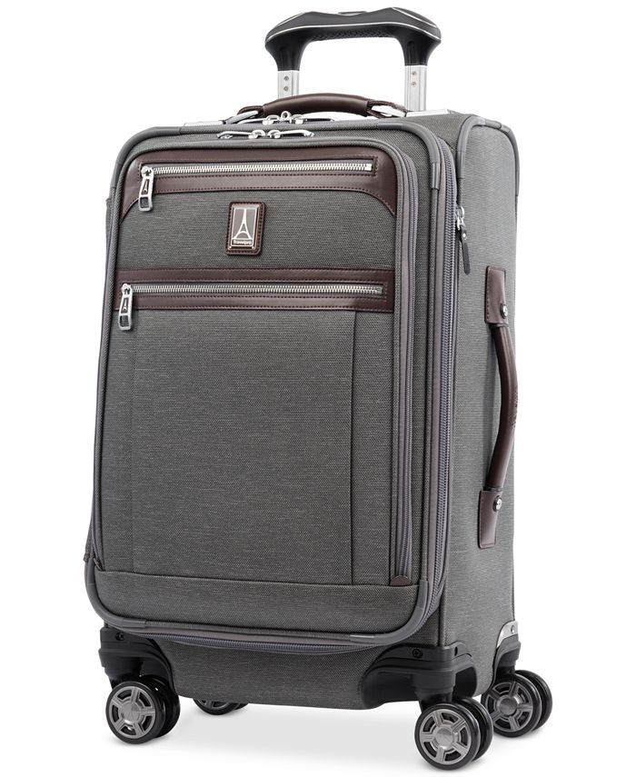 """Travelpro - Platinum Elite 21"""" Softside Carry-On Spinner Suitcase"""