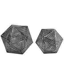 Uttermost 2-Pc. Kimora Aged Icosahedrons Set