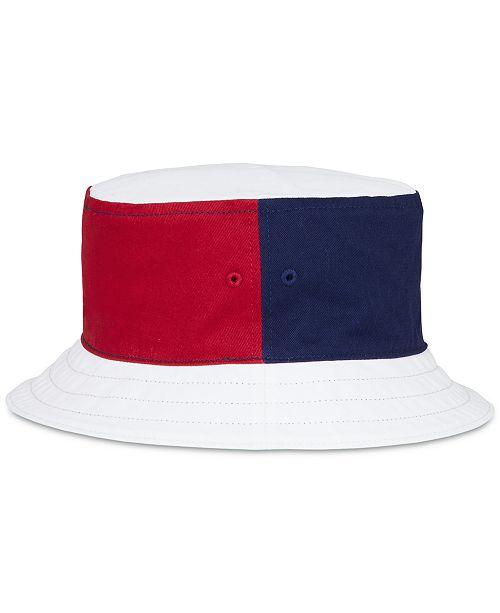 35f66e108e2 Nautica Men s Reversible Logo-Print Bucket Hat - Hats