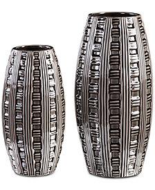 Uttermost Aura Weave Set of 2 Vases