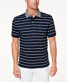 Tommy Hilfiger Men's Gordon Stripe Classic-Fit Polo