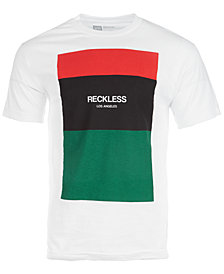 Young & Reckless Men's Colorblocked Graphic T-Shirt