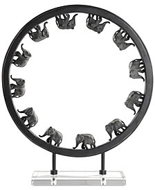 Uttermost Elephant Walk Sculpture