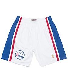 Men's Philadelphia 76ers Authentic NBA Shorts