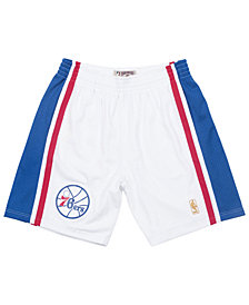 Mitchell & Ness Men's Philadelphia 76ers Authentic NBA Shorts