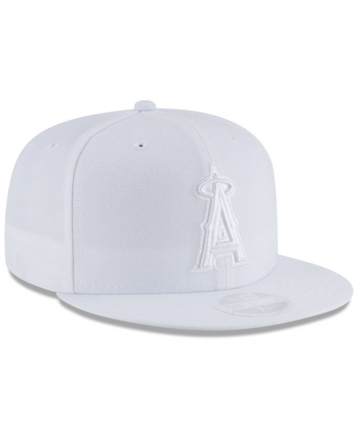 New Era Los Angeles Angels White Out 59FIFTY FITTED Cap & Reviews - Sports Fan Shop By Lids - Men - Macy's