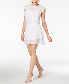 RACHEL Rachel Roy Gemma Eyelet Dress, Created for Macy's
