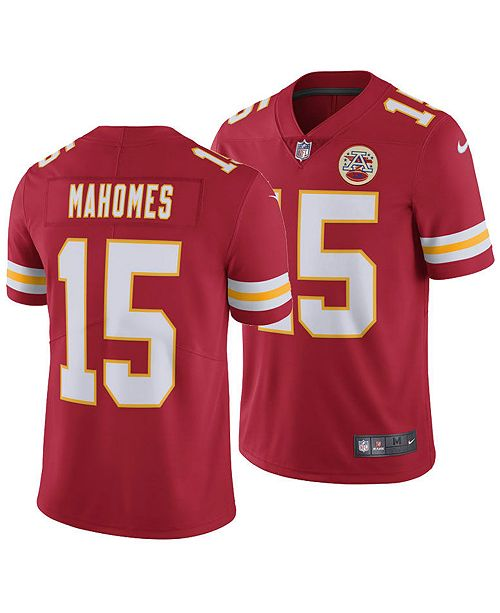 low priced 8749d 51295 Nike Men's Pat Mahomes Kansas City Chiefs Vapor Untouchable ...