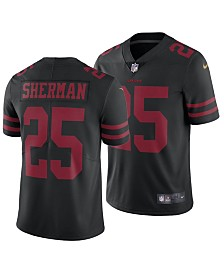 Nike Men's Richard Sherman San Francisco 49ers Vapor Untouchable Limited Jersey