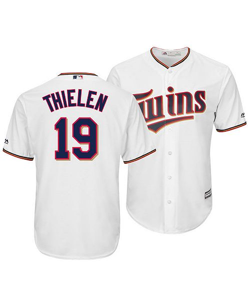 a1a7667eb ... Majestic Men s Adam Thielen Minnesota Twins NFLPA Replica Cool Base  Jersey ...