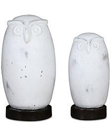 Uttermost Set of 2 Hoot Owl Figurines