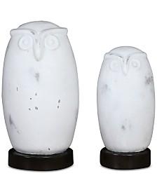 Uttermost Set of 2 Hoot Owl Figurines