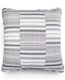 LAST ACT! Broken Stripe Cotton European Sham, Created for Macy's