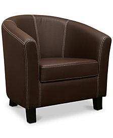 Kwento Club Chair, Quick Ship