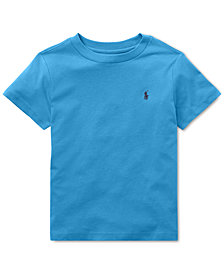 Polo Ralph Lauren Toddler Boys Cotton Jersey Crew-Neck T-Shirt