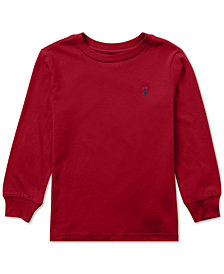 Polo Ralph Lauren Toddler Boys Cotton Long-Sleeve T-Shirt