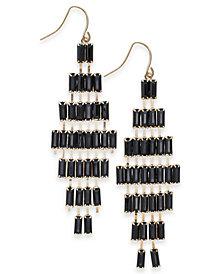 Thalia Sodi Gold-Tone Stone Chandelier Earrings, Created for Macy's