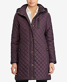 Icon Hooded Quilted Jacket, Created For Macys